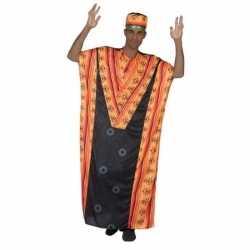 Afrikaanse kaftan verkleed carnavalsoutfit kleding mannen