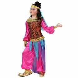 Arabische buikdanseres suheda verkleed carnavalsoutfit kleding meisje
