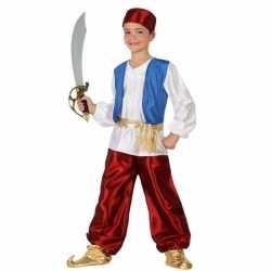 Arabische strijder badir carnavalsoutfit kleding jongens