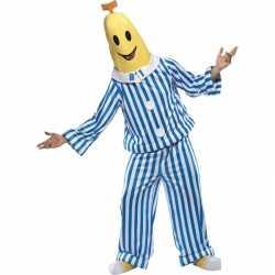 Banaan in pyjama carnavalsoutfit volwassen
