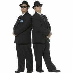 Blues Brothers carnavalsoutfit