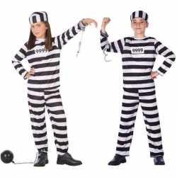 Boef/boeven verkleed pak/carnavalsoutfit kleding kinderen