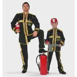 Brandweer carnavalsoutfit kleding kinderen