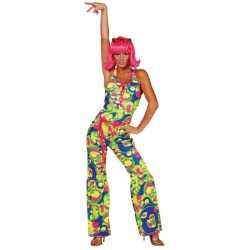 Catsuit seventies carnavalsoutfit