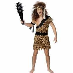 Caveman mannen carnavalsoutfit