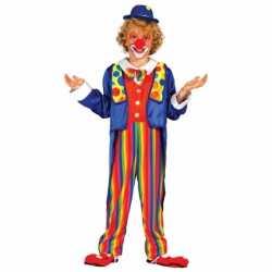 Clown carnavalsoutfit kleding kinderen
