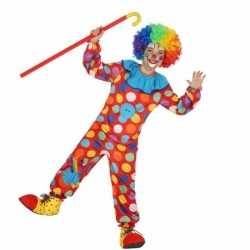 Clown dots carnavalsoutfit kleding jongens
