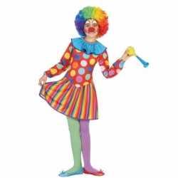 Clown dotty carnavalsoutfit kleding meisjes
