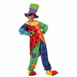 Clown stitches carnavalsoutfit kleding jongens