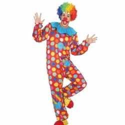 Clown verkleed pak/carnavalsoutfit kleding mannen