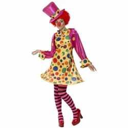 Clowns carnavalsoutfit kleding dames