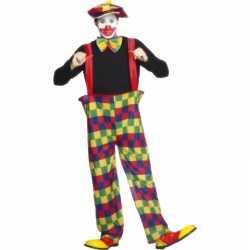 Clowns carnavalsoutfit kleding volwassenen