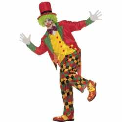 Clowns outfit kleding volwassenen