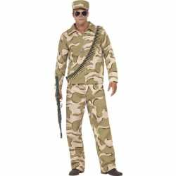 Commando carnavalsoutfit kleding mannen