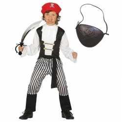 Compleet piraten carnavalsoutfit maat 140 152 kleding kinderen
