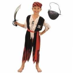 Compleet piraten carnavalsoutfit maat s kleding kinderen
