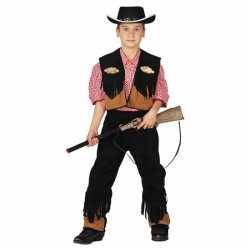 Cowboy carnavalsoutfit kleding kinderen