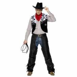 Cowboy carnavalsoutfit kleding mannen