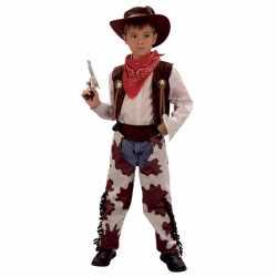 Cowboy koeienprint carnavalsoutfit kleding kinderen