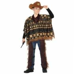 Cowboy/western pak/verkleed carnavalsoutfit kleding jongens