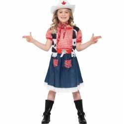 Cowgirl kinder carnavalsoutfit