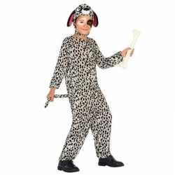 Dierenpak hond/honden verkleed carnavalsoutfit dalmatier kleding kind