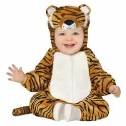 Dierenpak tijger verkleed carnavalsoutfit kleding peuters 12 18 maand