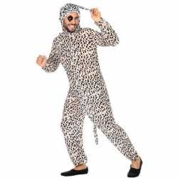 Dierenpak verkleed carnavalsoutfit dalmatier hond kleding volwassenen