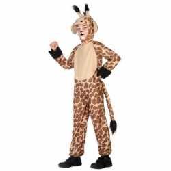 Dierenpak verkleed carnavalsoutfit giraffe kleding kinderen