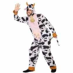Dierenpak verkleed carnavalsoutfit koe kleding volwassenen