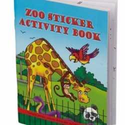 Dierentuin kleurboek stickers