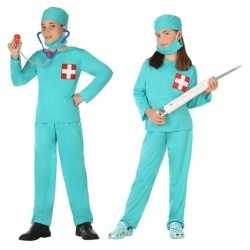 Dokter/chirurg verkleed carnavalsoutfit kleding jongensmeisjes