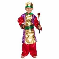 Drie koningen carnavalsoutfit verkleedkleding kleding jongens