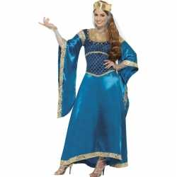 Engelse prinses carnavalsoutfit