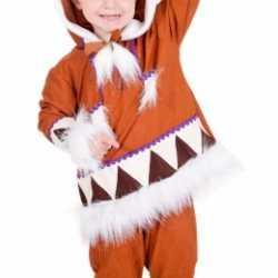 Eskimo carnavalsoutfit kleding jongens