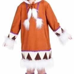 Eskimo carnavalsoutfit kleding meiden
