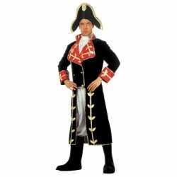 Fluwelen carnavalsoutfit Napoleon
