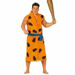 Fred holbewoner carnavalsoutfit kleding volwassenen