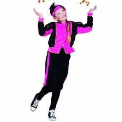Fuchsia pieten carnavalsoutfit kleding meisjes