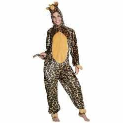 Giraffe dierencarnavalsoutfit kleding kinderen