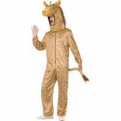 Giraffe carnavalsoutfit kleding volwassenen