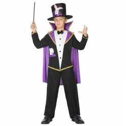 Goochelaar verkleed pak/carnavalsoutfit kleding kinderen