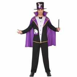Goochelaar verkleed pak/carnavalsoutfit kleding volwassenen