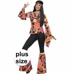 Grote maten hippie carnavalsoutfit willow kleding dames