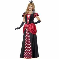Hartenkoningin carnavalsoutfit kleding dames