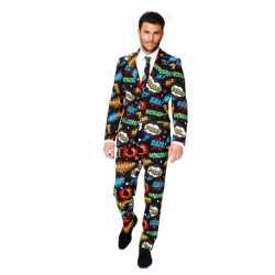 Heren carnavalsoutfit comic kleding