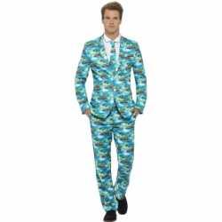 Heren carnavalsoutfit hawaii kleding