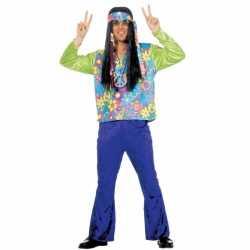 Hippie carnavalsoutfit kleding mannen