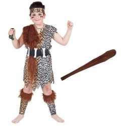 Holbewoner carnavalsoutfit maat m knots kleding kinderen