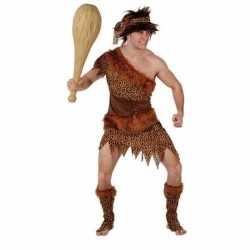 Holbewoner/caveman atouk verkleed carnavalsoutfit mannen